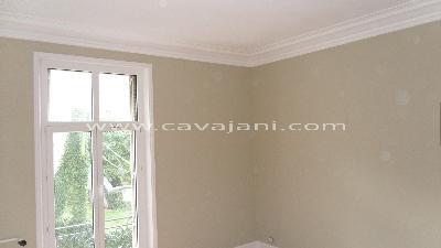 Suspentes plafond isolation ba13 finitions escaliers tuyaux - Peinture plafond chambre ...