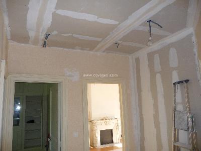 Enduit bicolore ntf faar marmande agen bergerac for Couloir peinture bicolore