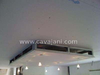 Suspentes Plafond Isolation Ba13 Finitions Escaliers Tuyaux