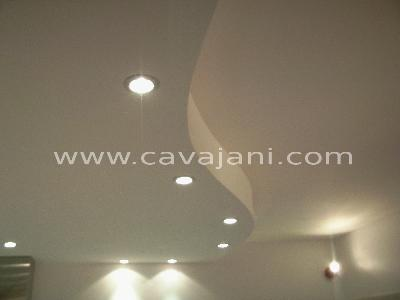 Ressort spot encastrable clairage de la cuisine for Comment faire un faux plafond design
