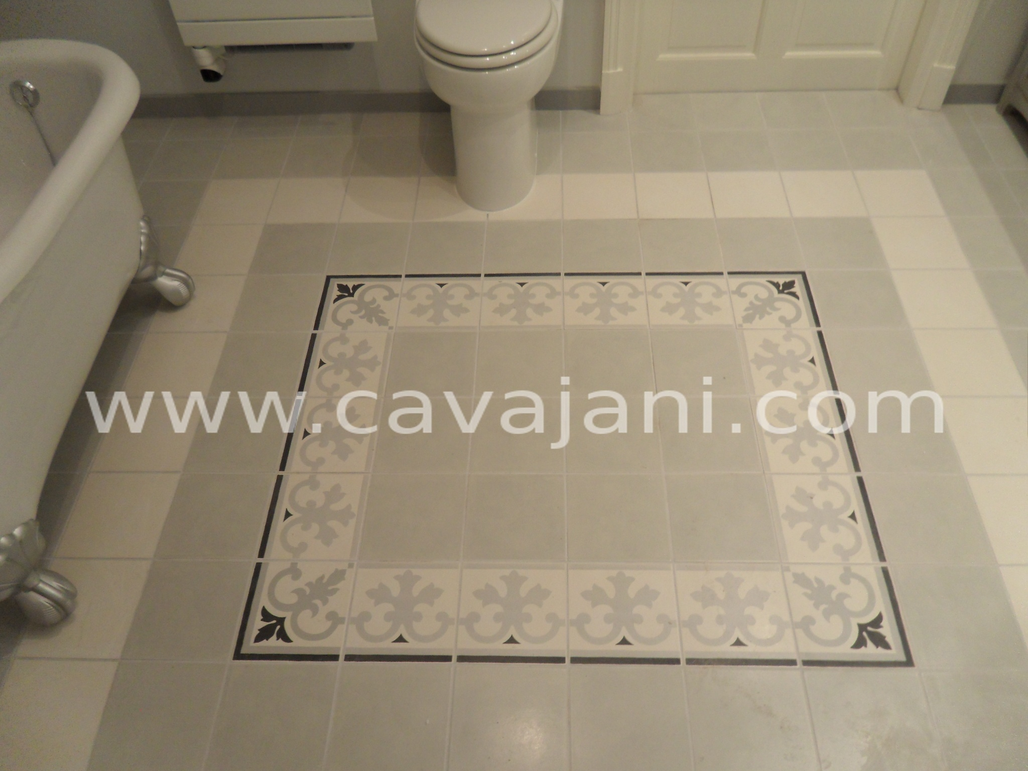 Wolf cavajani votre artisan id al renovation for Plan de calepinage carrelage